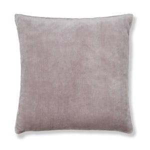 Sivá obliečka na vankúš Catherine Lansfield Basic Cuddly, 55×55 cm