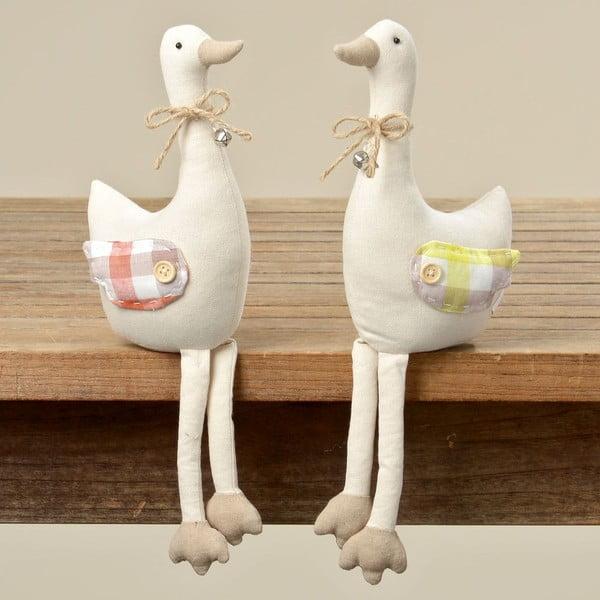 Sada 2 dekorácií Goose