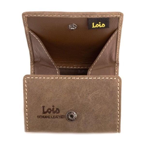 Kožená peňaženka na drobné Lois Coin, 8x7 cm