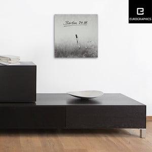 Magnetická tabuľa Eurographics Silver Shine, 30 x 30 cm