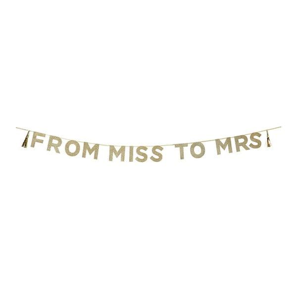 Girlanda From Miss To Mrs, 3 m