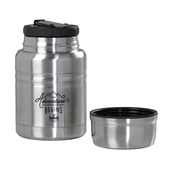 Antikoro termoska na polievku s lyžičkou Gentlemen's Hardware, 500 ml