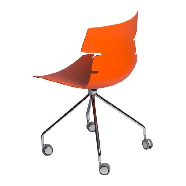 Sada 2 stoličiek D2 Techno Roll, oranžové