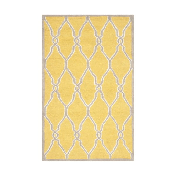 Koberec Augusta 152x243 cm, žltý