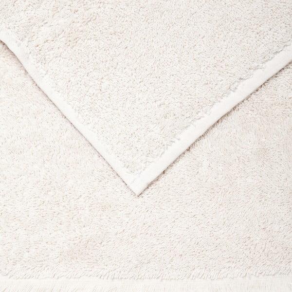 Sada 6 krémových uterákov Casa Di Bassi Guest, 30x50cm