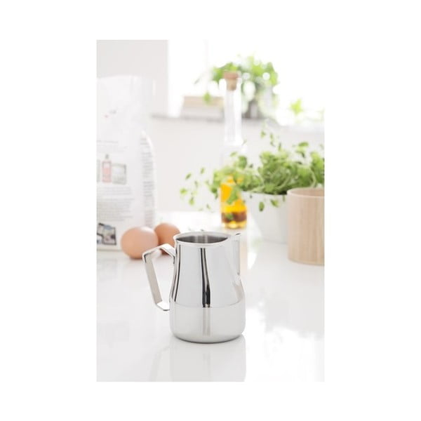 Biela nádoba na mlieko Steel Function Italian Milk, 350 ml