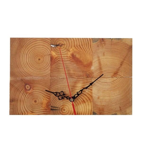Nástenné hodiny Woodblock