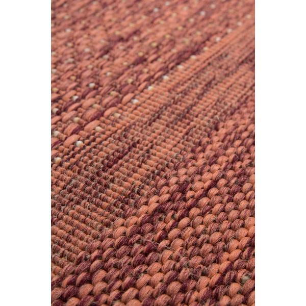 Koberec Kayoom Apache 160 x 230 cm, tehlovo červený