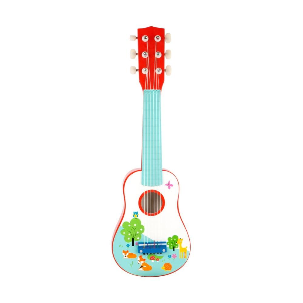 Detská drevená gitara Legler Little Fox