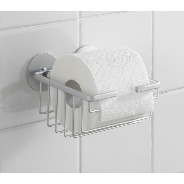 Samodržiaci stojan na toaletný papier Alumimium, až 40 kg