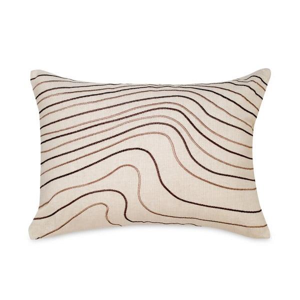Vankúš Waves White, 35x50 cm