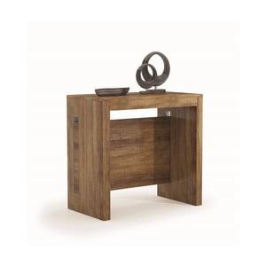 Rozkladací jedálenský stôl v dekore tmavého dubového dreva Terraneo, 45až190cm