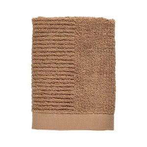 Jantárovohnedý uterák zo 100% bavlny Zone Classic Amber, 50×70 cm