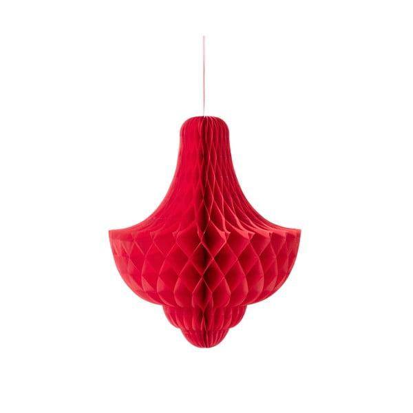 Papierová dekorácia Giant Bubble Red XL
