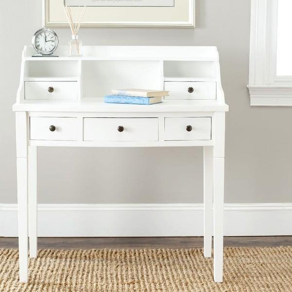 Biely písací stôl Safavieh Olivia