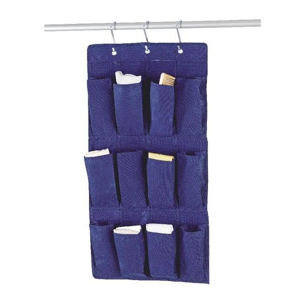 Závesný organizér Blue Pockets