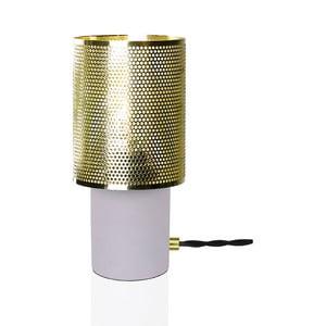 Stolová lampa vo farbe mosadze Globen Lighting Rumble