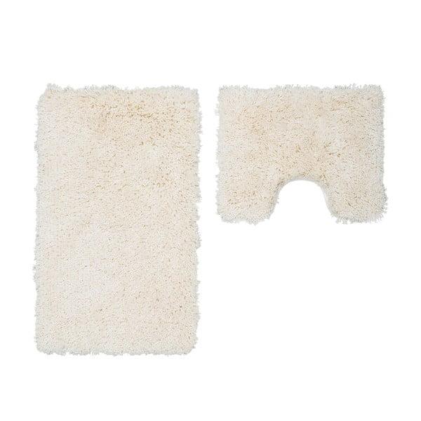 Sada 2 kúpeľňových predložiek s výrezom Citylights Ivory