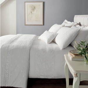 Obliečky Windsor White, 135x200 cm