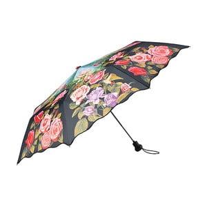 Skladací dáždnik Von Lilienfeld Rose Garden