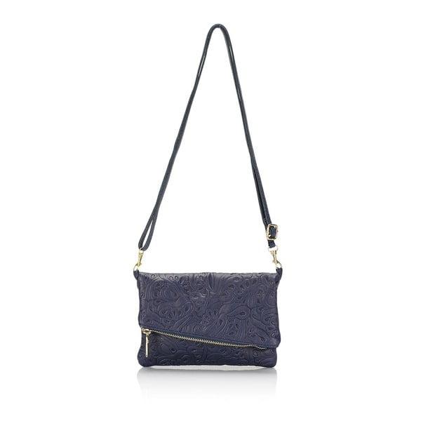Kožená kabelka Markese 6948 Blue