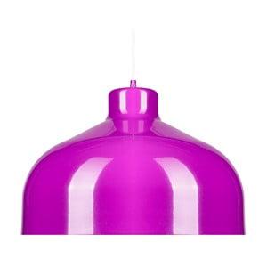 Fialové stropné svetlo Loft You B&B, 44 cm