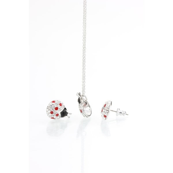 Set náhrdelníka a náušníc s krištáľmi Swarovski Elements Laura Bruni Dot