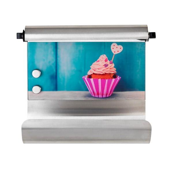Magnetický držiak na utierky s poličkou Cupcake