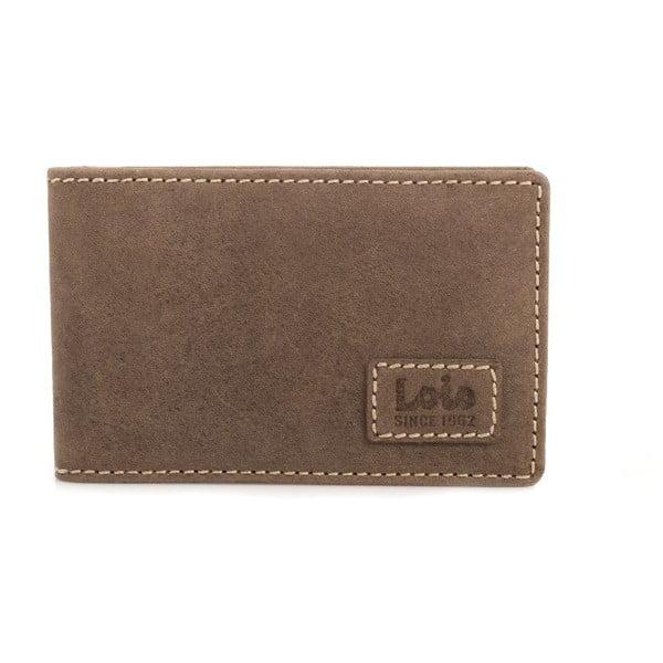 Kožená peňaženka Lois Brown, 11x8 cm