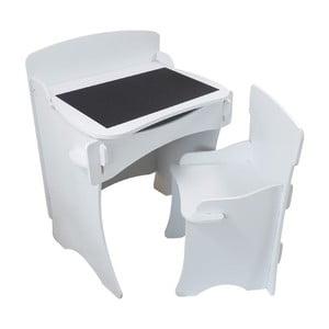 Detský stolík a kresielko White