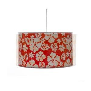 Červené stropné svietidlo Creative Lightings Flower