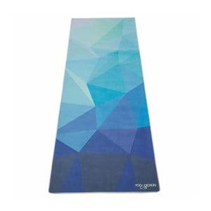 Uterák na jogu Yoga Design Lab Mat Geo Blue
