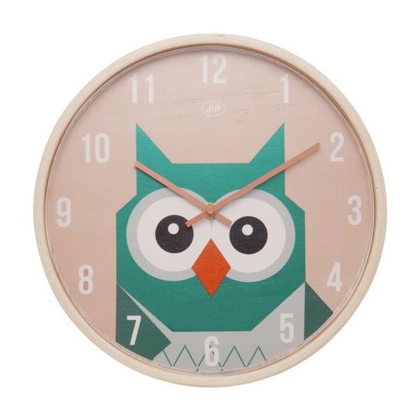 Nástenné hodiny Geo Owl, 30 cm