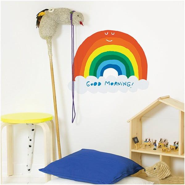 Dekoratívna samolepka na stenu Rainbow