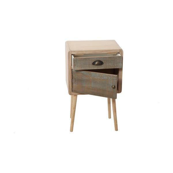 Odkladací stolík Bolzonella s dvierkami a zásuvkou