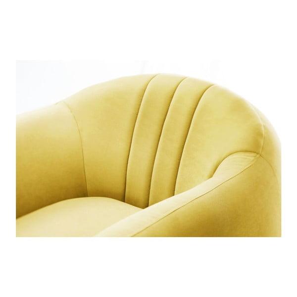 Kreslo Comete Stripes Yellow