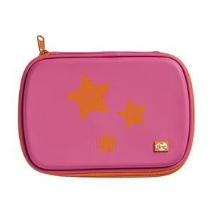 Ružový svietiaci peračník TINC GlowGo Stars
