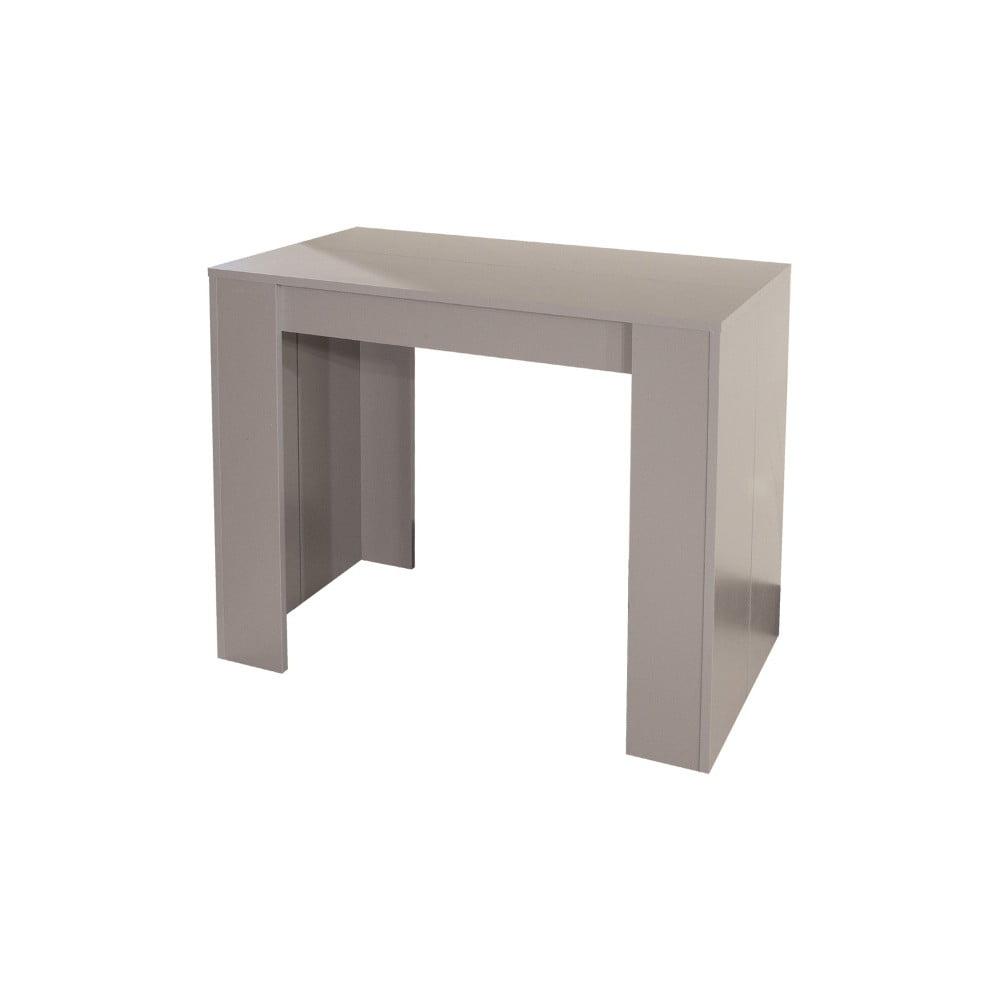 Sivohnedý rozkladací jedálenský stôl Symbiosis Elastic