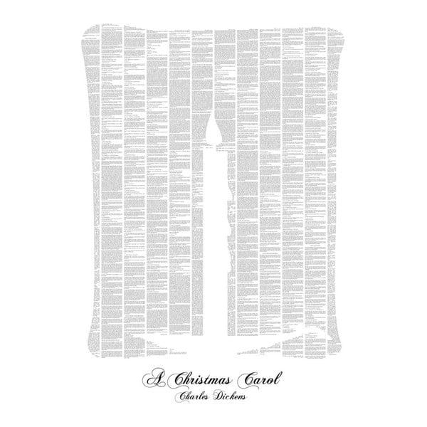 Knižný plagát Vianočná koleda, 50x70 cm