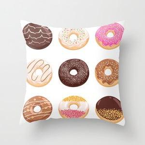 Obliečka na vankúš Donuts II, 45x45 cm