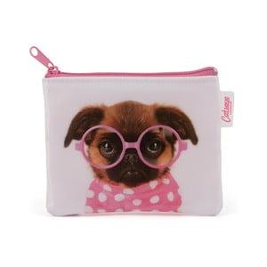 Peňaženka na mince Glasses Pooch