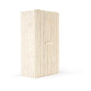 Detská šatníková skriňa z borovicového dreva SOB Desert