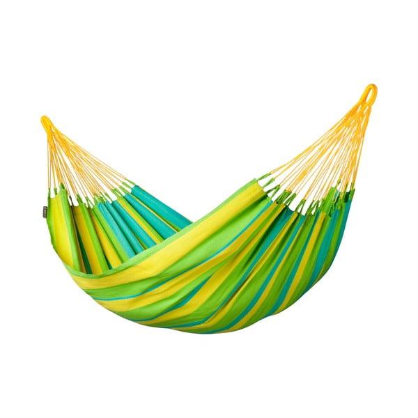 Hojdacia sieť Sonrisa pre jedného, zelená