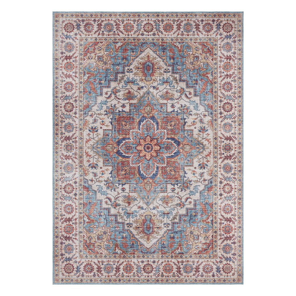 Červeno-modrý koberec Nouristan Anthea, 120 x 160 cm