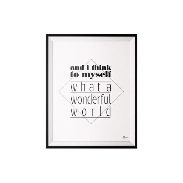Plagát Wonderfull, 50x70 cm