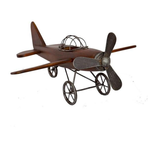 Dekorácia lietadlo Naturel