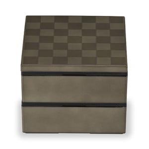 Zeleno-sivý desiatový box Joli Bento Wamoyou, 1,2 l