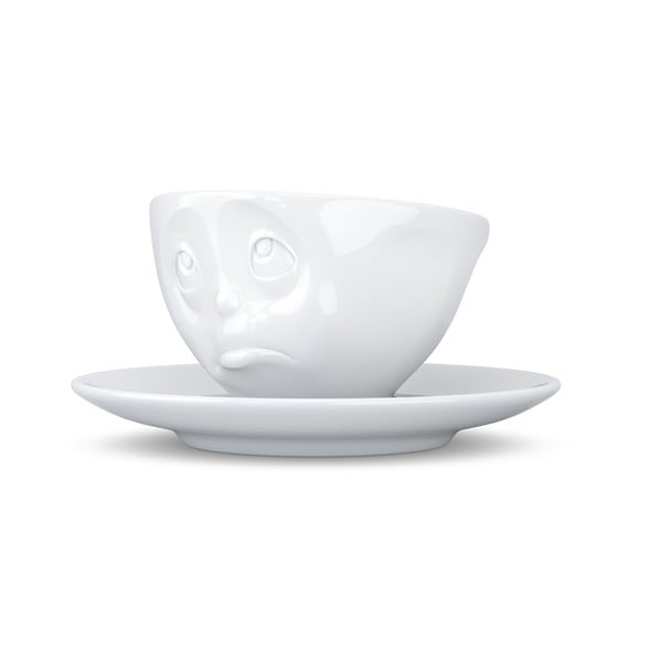 Biely hrnček na espresso Oh please 58products