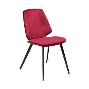Vínová jedálenská stolička DAN–FORM Denmark Swing Velvet