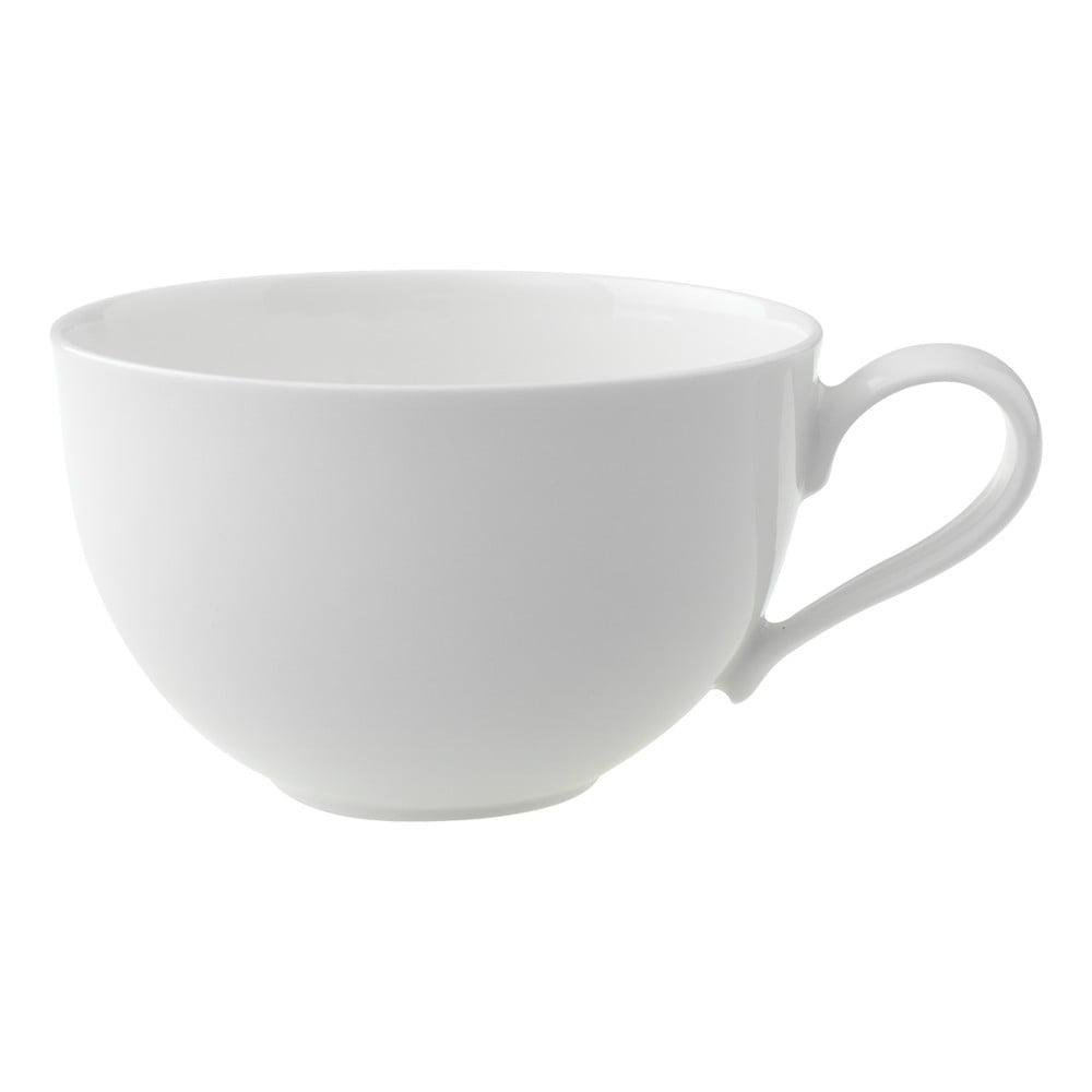 Biela porcelánová šálka na čaj Villeroy & Boch New Cottage, 390 ml